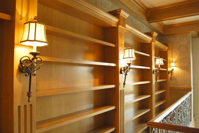 book case solid wood
